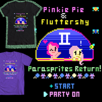 (Design #1) Pinkie Pie and Fluttershy II by Zztfox