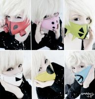 B.A.P - MATOKI cosplay by bad-bunnies
