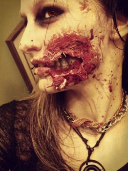 Zombie Make-up by RedEyedDemon