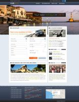 Car Rental Creta web design by mcwebalizer