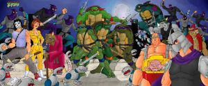 TMNT 30th by Mawnbak