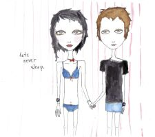 lets never sleep by selfhaircuts