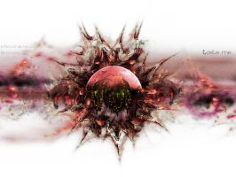 Infected Strawberry by Krackers