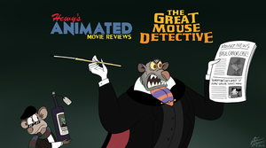 HAMR - Great Mouse Detective Title Card by HewyToonmore