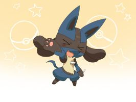 lucario by jtbbart