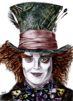 Mad Hatter Coloured by esayelemay
