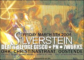 Silverstein flyer by screaminsilence