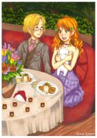 APH: First date by momofukuu