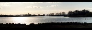 Pen-Y-Fan Pond Panorama. by metronewman