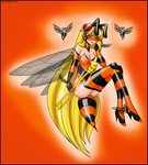 commission -  Venus bee by Rosvo
