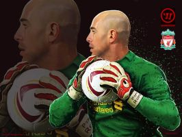 Pepe Reina Painting by kitster29