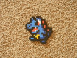 Totodile Bead Sprite by Cuttlefish43
