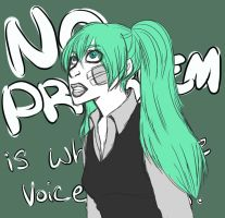 Vocaloids: Rolling Girl by offensivebehavior
