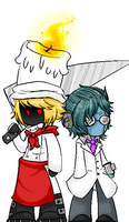 Chef and Fritz by BBlueBBullet