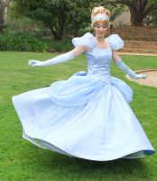 Cinderella dress twirl! by LadyGryffindor