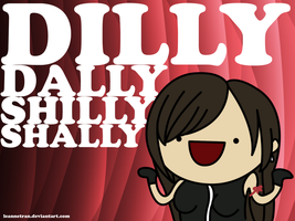 FF: Dilly Dally Shilly Shally by leannetran