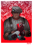 BL2: Bleeding Heart White Knight by Bhryn