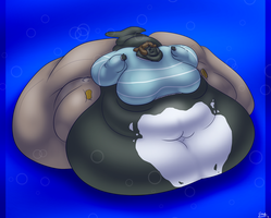 Massive Mama Whale by GLWuffie