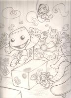 Little Big Planet sketch by mattdog1000000