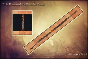 OPEN Bracelet Autumn Wood by Andecaya