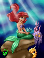 Arial coloring page by Brierose
