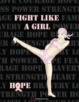 Fight Like A Girl by O1EyedJckofSpdes