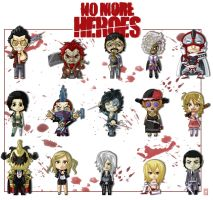 No more Heroes collection by DaKroG