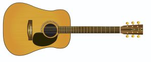 Acoustic guitar WIP by zorchmedia