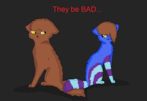 They be BAD by breebree223