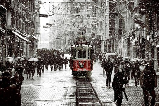 Snow In Istanbul... by dilemmanya