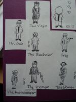 Sherlock BBC characters by msLocky