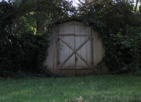 Creepy Shed by Eris-stock