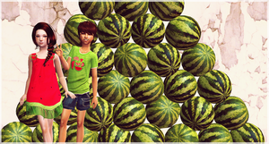 Melons!! by whitechocolate-sim
