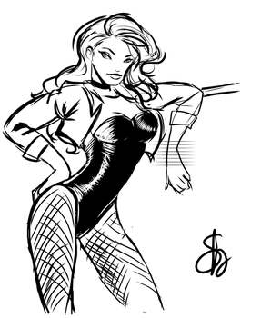 Black Canary by willwoosharon