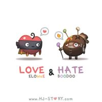 Love and Hate by hjstory