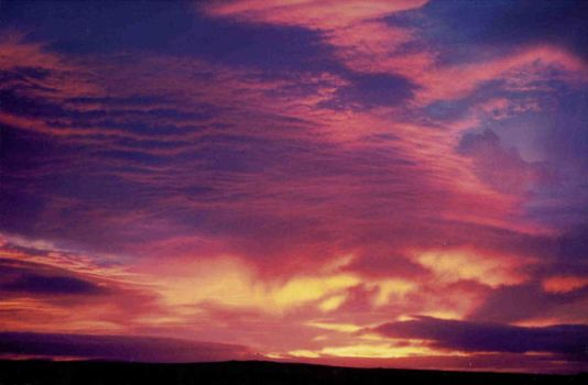 sunset over wickham heights by Emmly