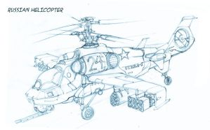 Russian Hellicopter by Rusty001