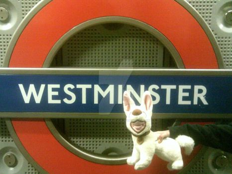 Arriving in WESTMINSTER!! by BOLTsTrueNo1FanEVER