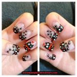 Kitty Nails by snowbunnyluv