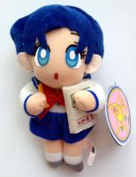 Sailor Moon R Banpresto Mercury Plush Doll Set 3 by aleena