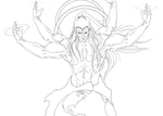 Shiva WIP by Arrancarfighter