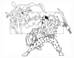 spidey and kraven by Neil-Googe