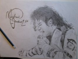 Michael Jackson [Pencil] by SymbiopticStudios