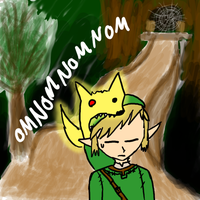 The Gold Wolf OMNOM by xxfangirlkillerxx