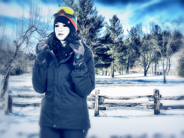 Jane Richardson: Too Cold To Hold! :o by FearOfTheBlackWolf