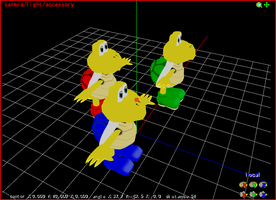 MMD Koopa Troopas by Valforwing