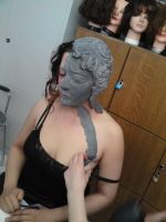 weeping angel makeup by made-me-a-monster