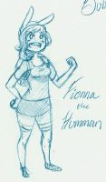 Fionna the Human by guardian-angel15
