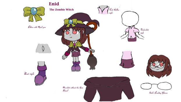 Enid the Zombie Witch copy by Basher-the-Basilisk