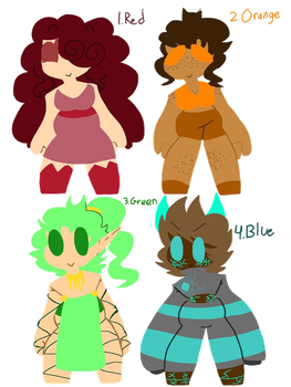 :.Color Based Adopts.: {2 O P E N} by adopt-palette